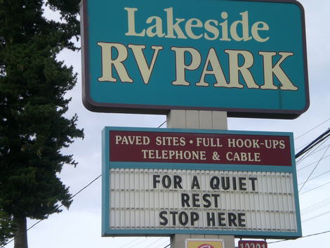 Arlington Lakeside Trailer Park